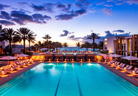 Eden Roc Miami Beach Main Pool Sunset